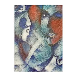 Las Caras Acrylic Print