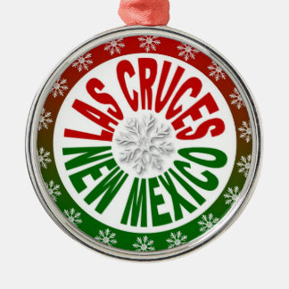Las Cruces New Mexico red green ornament
