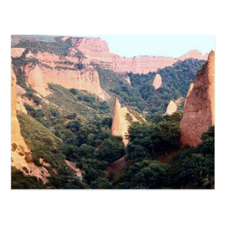 Las Medulas (ex-Roman gold mine site), Leon Provin Postcard