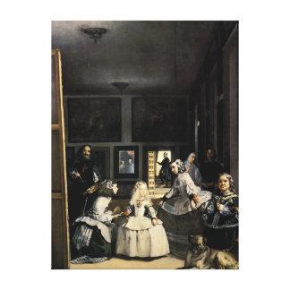 Las Meninas by Velasquez Gallery Wrap Canvas
