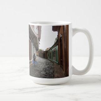 Las Penas-Water Carrier - Cobblestone Road-Ecuador Coffee Mug