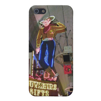 Las Vega Cowboy Neon Sign iPhone 5/5S Case