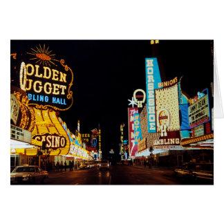 Las Vegas 1960 Card