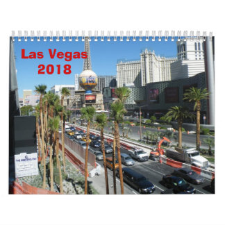 Las Vegas - 2018 Calendars
