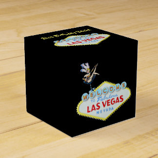 Las Vegas 21st Birthday bash Favor Box