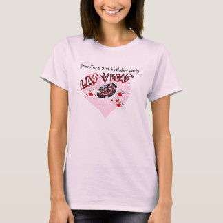 Las Vegas 21st  Birthday Party for Female T-Shirt