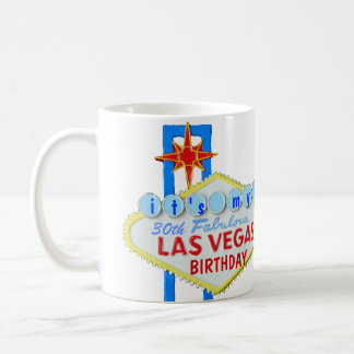 Las Vegas 30th Birthday Coffee Mug