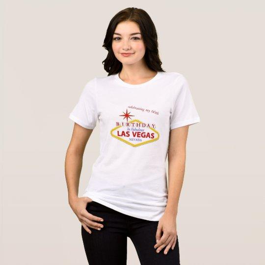 Las Vegas 60th Birthday Jersey T-Shirt