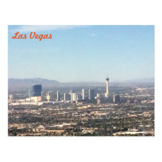 Las Vegas aerial Postcard