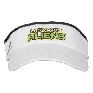 Las Vegas Aliens Custom Knit Visor, White Visor