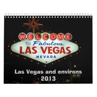Las Vegas and environs Calendar