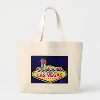 Las Vegas Art Large Tote Bag