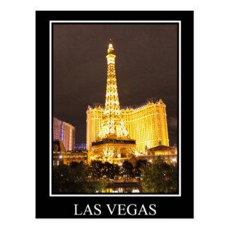Las Vegas at Night Postcard