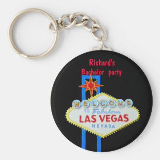 Las Vegas Bachelor Party Keychain