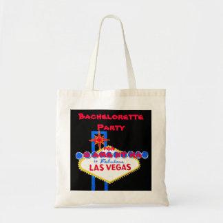 Las Vegas bachelorette Party Favor Tote Bag