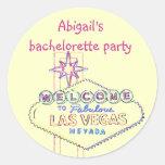 Las Vegas Bachelorette Party Stickers
