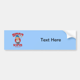 Las Vegas Bingo King Bumper Sticker