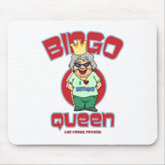 Las Vegas Bingo Queen Mouse Pad
