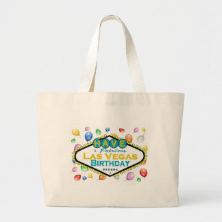Las Vegas Birthday Bag! Large Tote Bag