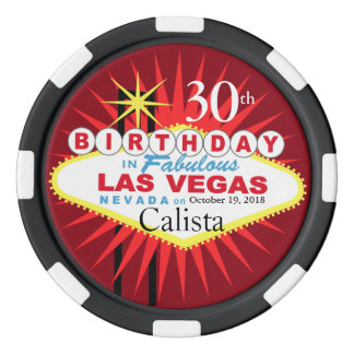 Las Vegas Birthday Casino Chip