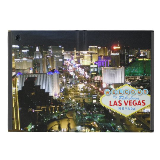 Las Vegas Boulevard and Welcome Sign Cover For iPad Mini
