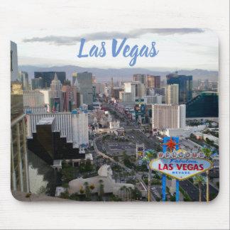 Las Vegas  Boulevard Daytime Strip View Mouse Pad