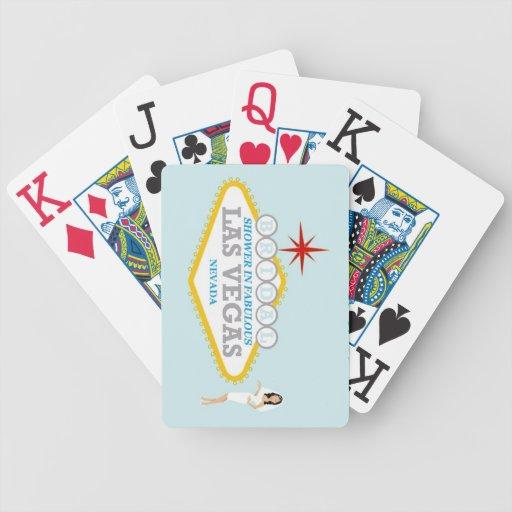 Las Vegas BRIDAL SHOWER Playing Cards