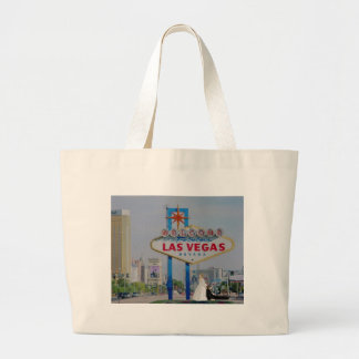 Las Vegas Bride dragging Groom Classic Tote Bag
