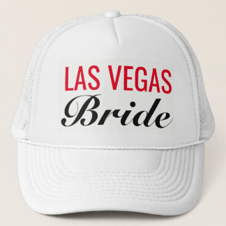Las Vegas Bride Vegas Wedding Trucker's Hat