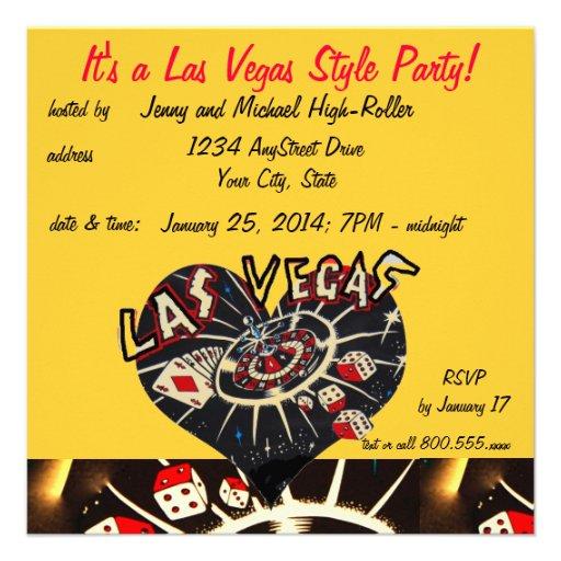 Las Vegas Casino Style Party