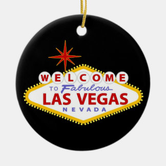 Las Vegas Christmas Ornament
