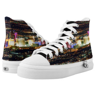 Las Vegas City Lights High Tops
