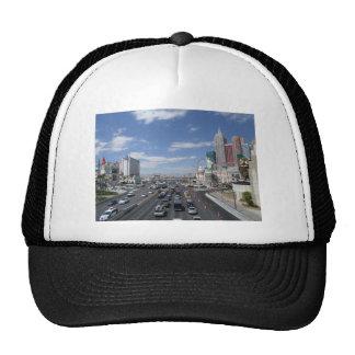Las Vegas City Traffic Street View  NV Nevada Trucker Hat