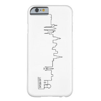 Las Vegas cityscape Barely There iPhone 6 Case
