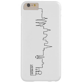 Las Vegas cityscape Barely There iPhone 6 Plus Case