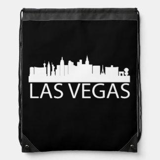 Las Vegas Cityscape Drawstring Bag