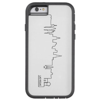 Las Vegas cityscape Tough Xtreme iPhone 6 Case