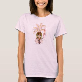 Las Vegas Dancing Showgirl T-Shirt