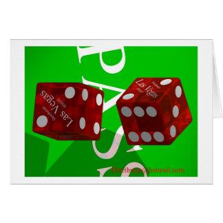 Las Vegas Dice I (card) Card