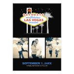 Las Vegas épousant l'Économie-le-date Cartons D'invitation