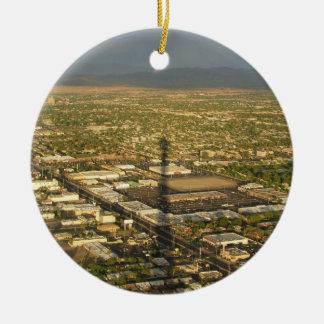 Las Vegas Evening Ceramic Ornament