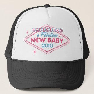 Las Vegas Expecting Custom Year Trucker Hat