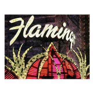 Las Vegas Flamingo Postcard