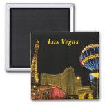 Las Vegas Fridge Magnet