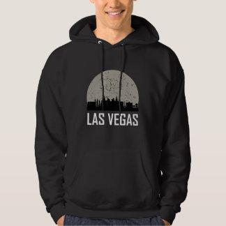 Las Vegas Full Moon Skyline Hoodie