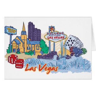 Las Vegas Fun In The Sun Card