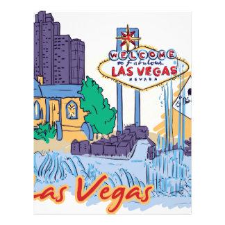 Las Vegas Fun In The Sun Letterhead