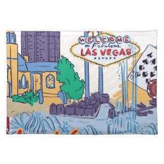 Las Vegas Fun In The Sun Placemat