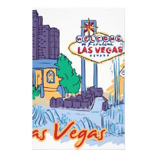 Las Vegas Fun In The Sun Stationery