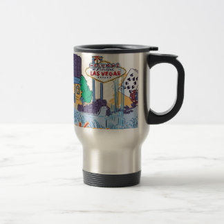 Las Vegas Fun In The Sun Travel Mug